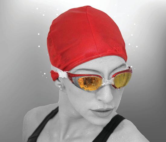 Mirrored Prescription Swimming Goggles