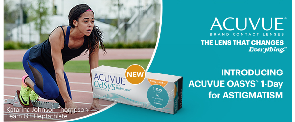 Oasys 1-Day Astigmatism Contact Lenses